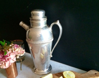 Silver Plated Shaker by Crescent
