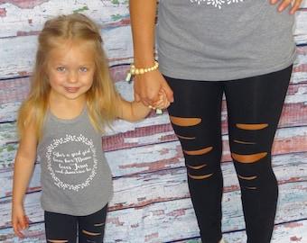 KIDS - Distressed Stretch Legging