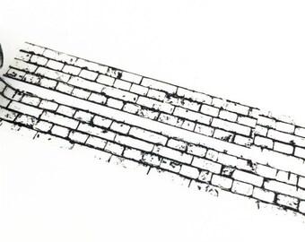 Wall Washi Tape, Black White Washi Tape