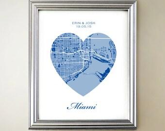 Miami Heart Map