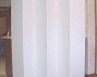"Dorm Room Divider Folding 6 Panel Privacy Screen 65"" Tall"
