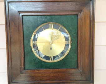Clock - 8 day - Wooden  Frame - Wall Hanging