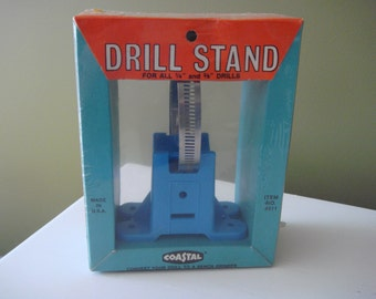 Vintage Electric Drill Stand - No.4511 - Made in USA - NIB