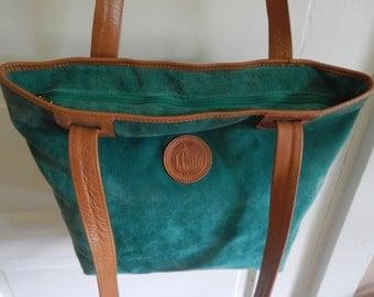 Roomy Stylish Suede Shoulder Bag!