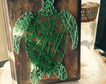 Sea Turtle String Art (MADE TO ORDER)