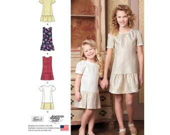 Simplicity Sewing Pattern 8183 Child's and Girls' Dress or Jumper