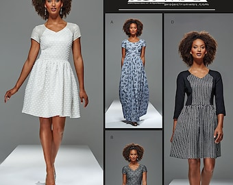 Simplicity Sewing Pattern 8015 Misses'/Miss Petite Dress