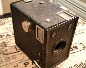 Antique camera Agfa D6 Cadet box camera 1940s vintage camera antique box camera