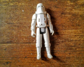 1980 Imperial Stormtrooper, Hoth Battle Gear (Snowtrooper). Star Wars: Empire Strikes Back Action Figure. Loose.  Kenner