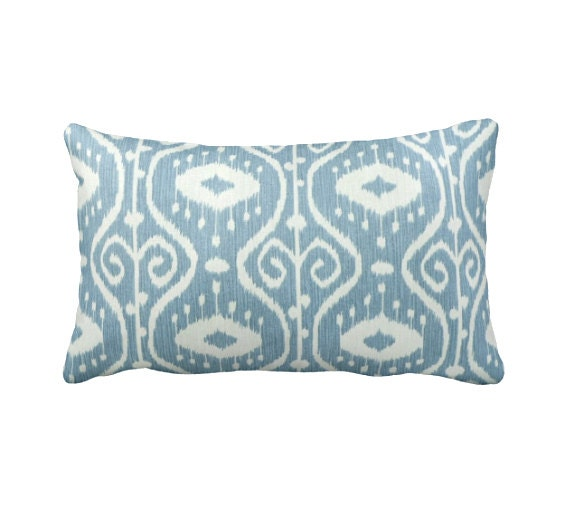 7 Sizes Available: Ikat Pillow Cover Decorative Pillow Throw