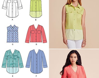 Simplicity Pattern 8053 Misses' Shirt