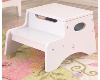 Large Personalized Storage Step Stool with Custom Design : personalised step stool - islam-shia.org