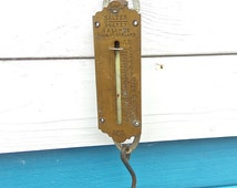 Brass Salter Pocket Balance No 3 - Made in England - Vintage Collectable, Steampunk Style, Vintage British Collectable