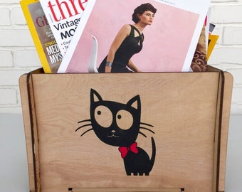 Cat Lovers must have Cute Kitty Storage Box