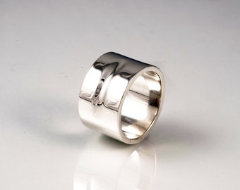 Sterling Silver 'Dash' Gent's Ring