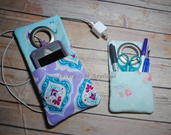 DIGITAL ITEM: ITH Hanging Pocket Embroidery Design