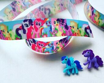 My Little Pony Ribbon, 7/8 Pony Ribbon, Hairbow Supplies