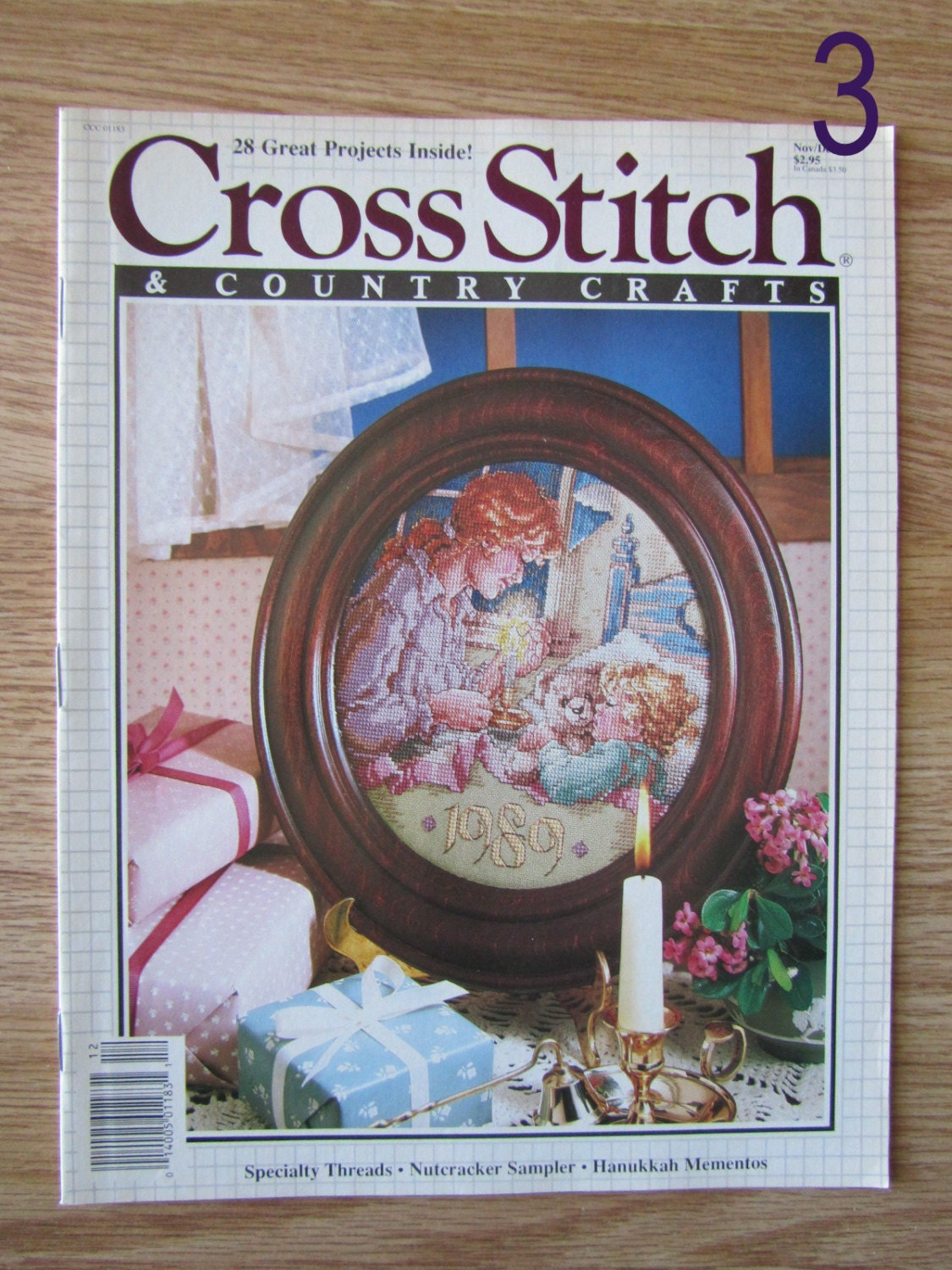 Cross stitch country crafts magazine back issues -  3 00 Shipping