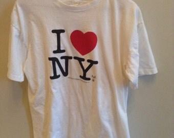 Vintage I Love New York shirt