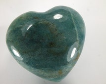 Heart carved in Aventurine (EA5001) gift stone love crystal spiritual healing Abundance Prosperity Creativity Luck Valentines