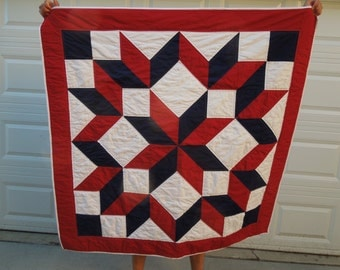 American Quilt- Red White and Blue Quilt