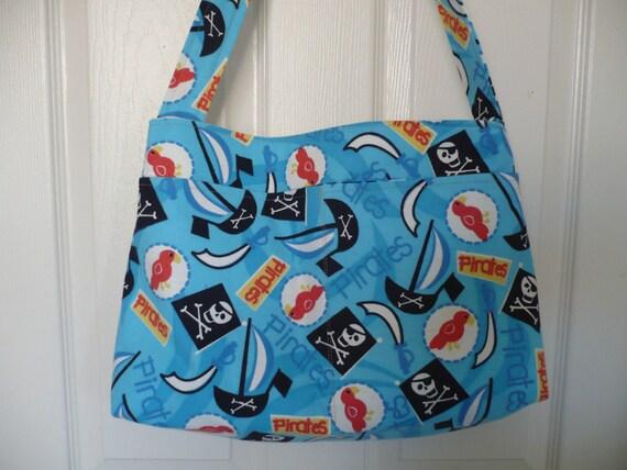 Pirate Theme Purse Diaper Bag