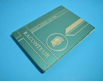 1969 Maine-Endwell High School Yearbook / Original Copy / Raconteur / Endwell NY / Vintage Yearbook / ALifetimeofVintage