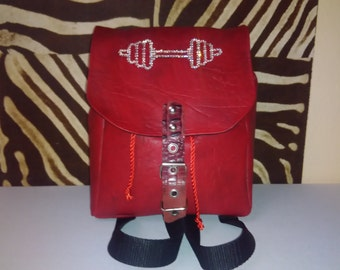 Nice small backpack great red