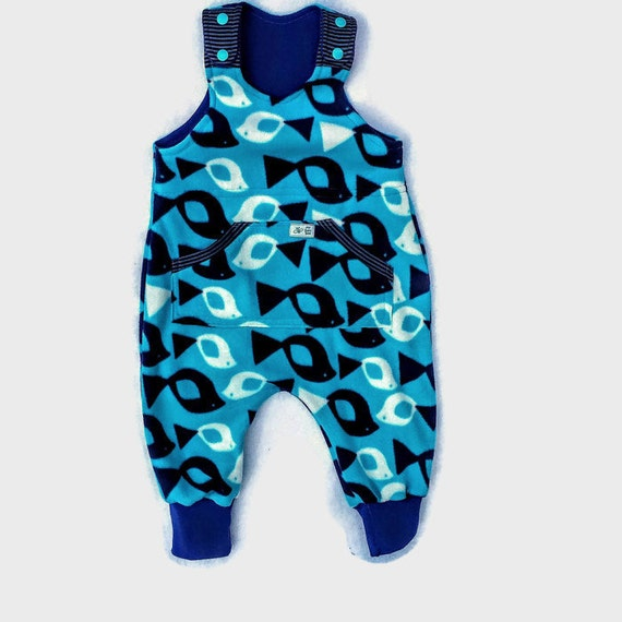 baby boy rompermicro fleece boy jumpsuit boy by mybabybeeandme. Black Bedroom Furniture Sets. Home Design Ideas