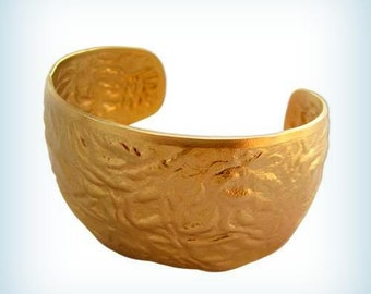 Raw Brass Stamping Cuff Bracelet, Wide Raw Brass Cuff Bracelet, Bracelet Blank, Wide Cuff Bracelet. 1 pc Made in USA
