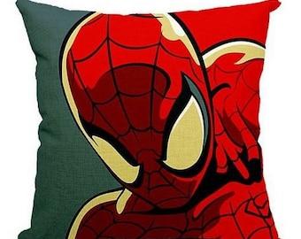 Retro Super Hero Spiderman - Pillow Cover