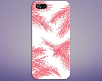 Red Palm Trees x Rasta Summer Phone Case, iPhone 7, iPhone 7 Plus, Protective iPhone Case, Galaxy s8, Samsung Galaxy Case Note 5 CASE ESCAPE