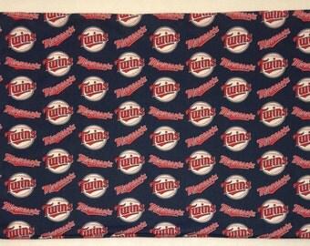 1 Set- Minnesota Twins Cotton Pillowcases