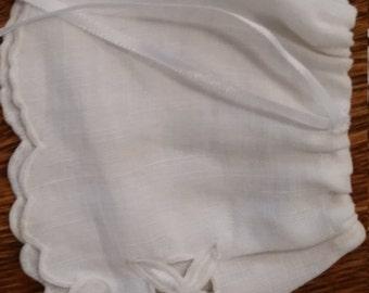 Tiny Linen Petticoat for a Tiny Doll