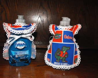 University of Florida Dish soap bottle cover