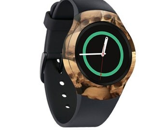 Skin Decal Wrap for Samsung Gear S2, S2 3G, Live, Neo S Smart Watch, Galaxy Gear Fit cover sticker Skull pile