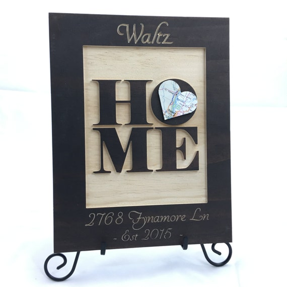 Our first home sign new home housewarming by bloomingdoordecor for New home sign