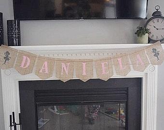 Ballerina Banner- Personalized- Ballerina Birthday- Ballet Party- 1st Birthday- Baby Shower Banner- Ballerina Decor- Tutu- Tutu Banner