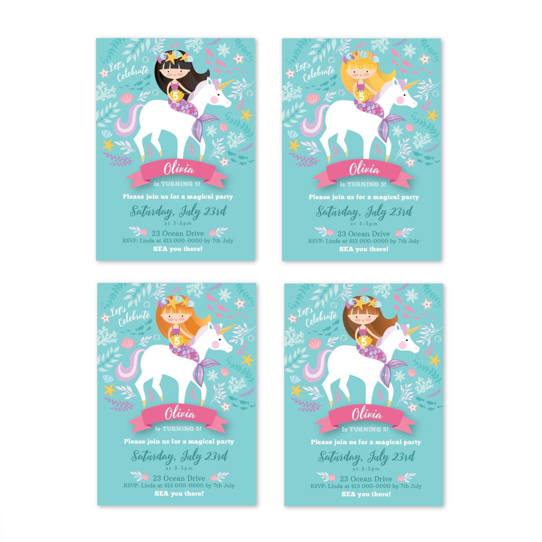 Little mermaid pool party invitations futureclimfo little mermaid pool party invitations is great invitations design monicamarmolfo Images