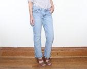 SIZE 28 Vintage 90s Calvin Klein High Waisted Mom Jeans, Vintage 1990s Calvin Klein Jeans Size 28 Denim High Waisted Mom High Waisted Jean