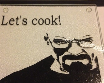 Breaking Bad lets cook cutting board
