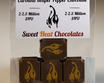 Carolina Reaper Milk chocolate 4pc