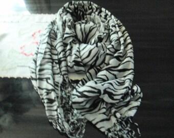 Animal print  Scarf/ wrap all seasons