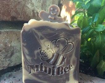 CHRISTMAS COOKIE Shea Butter Soap, Handmade Soap, Cold Process Soap, Moisturizing