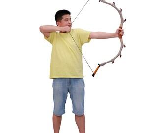 MAYARMS Archery Handmade Longbow Fiberglass Bow Laminated Bow Recurve Bow Traditional Chinese Longbow 20-70lbs