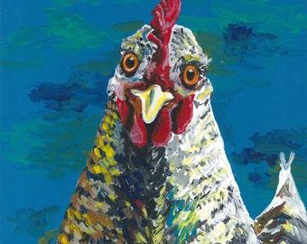 Chicken Print Instant Download