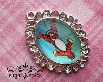 Tigger Pendant - Tigger Necklace Pendant - Winnie the Pooh Tigger Pendant - Tigger Jewelry