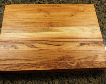 Black Locust/Honey Locust   Butcher Block Cutting Board