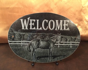 Horse Ranch Plaque