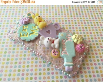 SALE - iPhone 6 Plus Decoden Case - Wonderland Tea Party